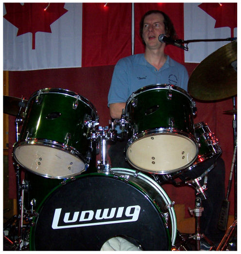 Benny P - Alternate Drums, lead and backup vocals
